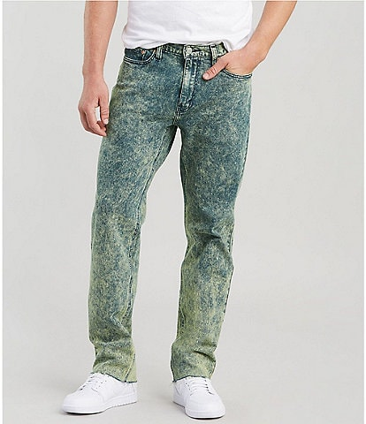 Levi's® 541 Acid Yellow Wash Straight Athletic-Fit Jeans