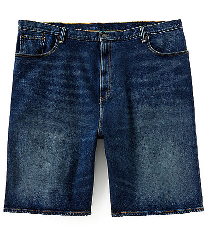 Levi's® 569 Big & Tall 12 1/2#double; Inseam Loose Straight-Fit Denim Jean Shorts