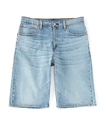 Levi's® 569 Loose Straight-Fit 12 1/2#double; Inseam Denim Jean Shorts