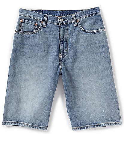 Levi's® 569 Loose Straight-Fit 12 1/2#double; Inseam Denim Shorts