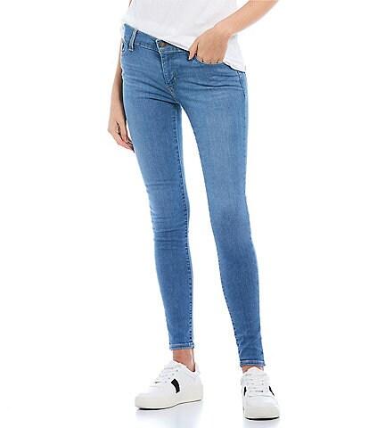 Levi's® 710 Mid Rise Super Skinny Jeans
