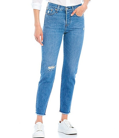 Levi's Athens Wedgie Non-Stretch High Rise Ankle Jeans