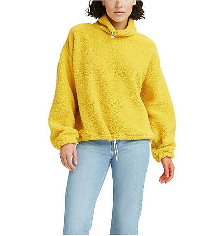 Levi's® Aura Adjustable Cowl Sherpa Pullover