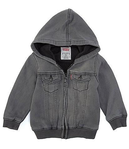 Levi's® Baby Boys 12-24 Months Knit-Denim Hoodie
