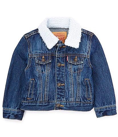 Levi's® Baby Boys 12-24 Months Sherpa Denim Trucker Jacket