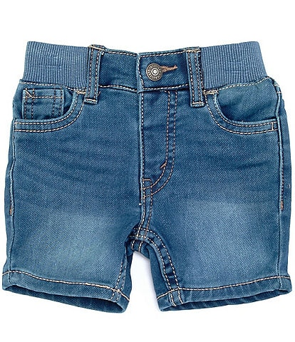 Levi's® Baby Boys 3-24 Months Denim-Look Knit Shorts