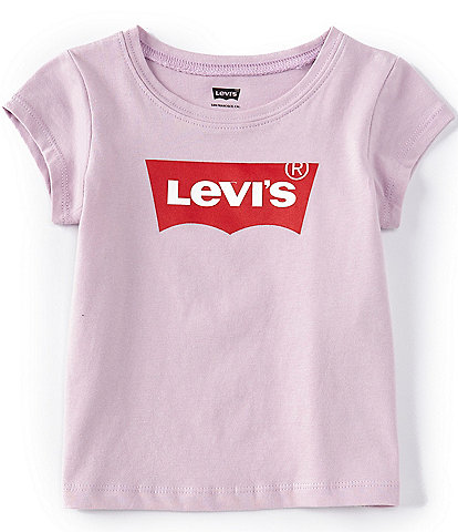 Levi's Baby Girl 12-24 Months Short-Sleeve Batwing Tee