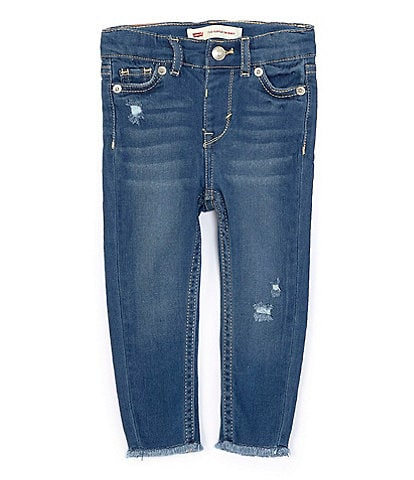 Levi's® Baby Girls 12-24 Months 710 Super Skinny Jeans