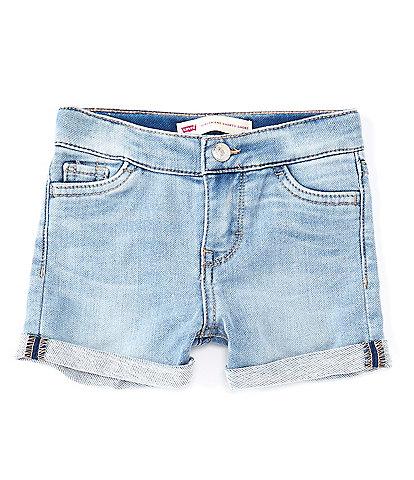 Levi's® Baby Girls 12-24 Months Boyfriend Cuffed Shorts
