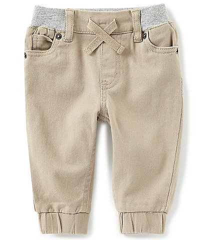 Levi's® Baby Boys 3-24 Months Brushed-Twill Jogger Pants