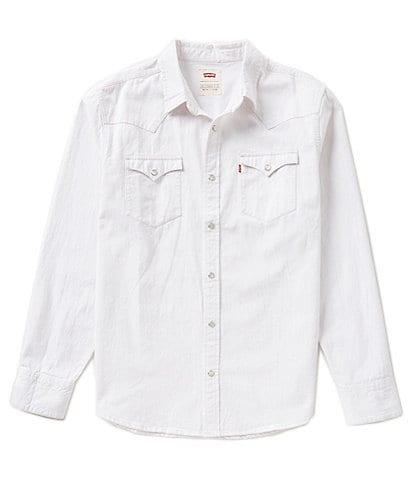 Levi's® Barstow Solid Snap-Front Denim Shirt