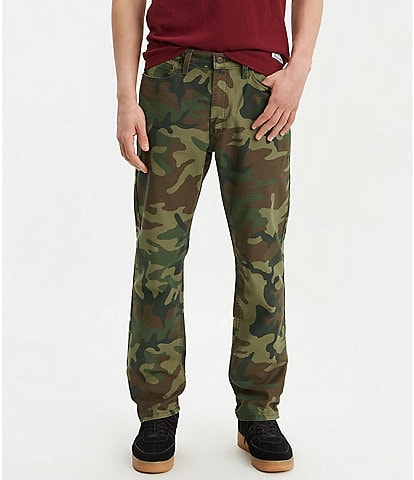 Levi's® Big & Tall 541 Athletic-Fit Camo Jeans