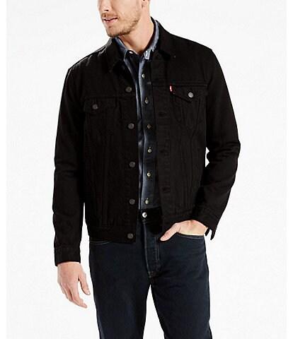 Levi's® Big & Tall Stretch Denim Trucker Jacket