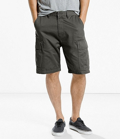 Levi's® Big & Tall Twill Carrier 9 1/2#double; Inseam Cargo Shorts