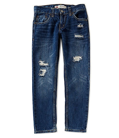 Levi's® Big Boys 8-20 502 Regular Destructed Taper Fit Jeans