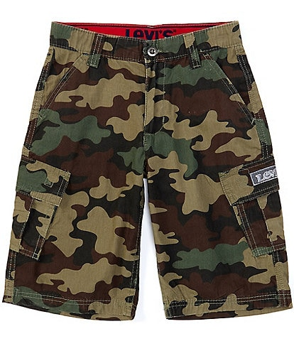 Levi's Big Boys 8-20 Camo Relaxed-Fit Cargo Shorts