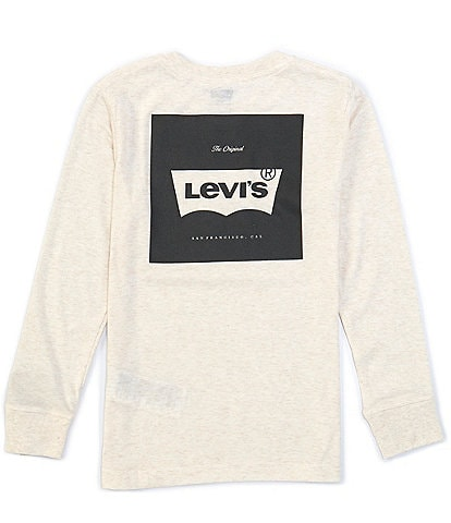 Levi's Big Boys 8-20 Long-Sleeve The Original Logo Tee