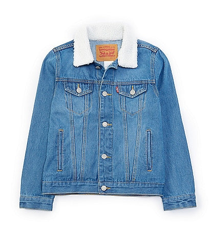 Levi's Big Boys 8-20 Sherpa Denim Trucker Jacket