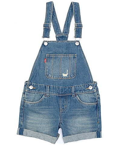 Levi's® Big Girls 7-16 Destructed Denim Shortall