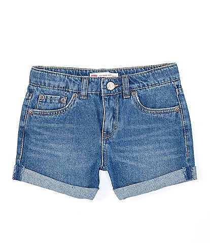 Levi's® Big Girls 7-16 Girlfriend Shorty Denim Shorts