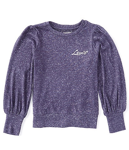 Levi's® Big Girls 7-16 Long-Sleeve Hacci Ombre Knit Top