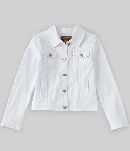 Levi's® Big Girls 7-16 Denim Trucker Jacket