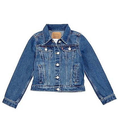Levi's® Big Girls 7-16 Denim Trucker Jacket