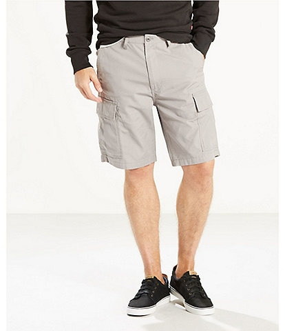 Levi's® Carrier Twill 9 1/2#double; Inseam Cargo Shorts