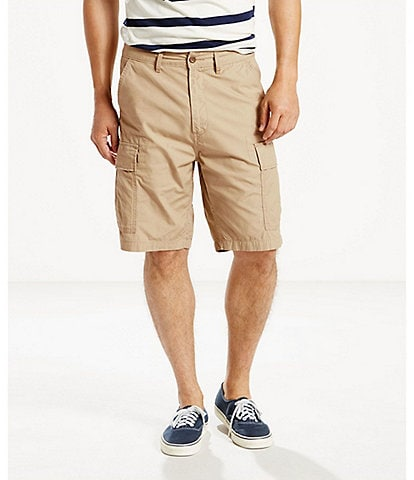 Levi's® Carrier Twill Ripstop 9 1/2#double; Inseam Cargo Shorts