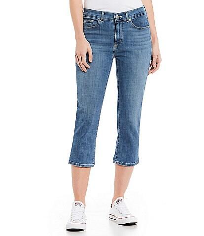 Levi's® CL Strait Leg Capri Jeans
