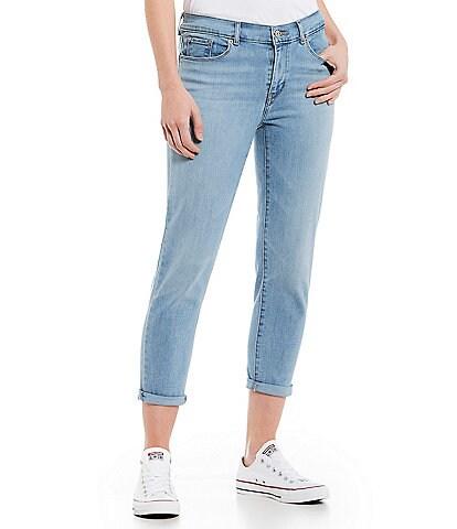 Levi's® Classic Crop Strait Leg Cuffed Hem Jeans