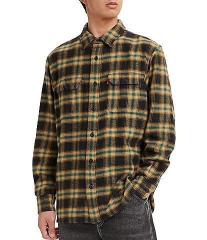 Levi's® Classic Plaid Flannel Worker Overshirt