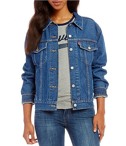 Levi's® Ex-Boyfriend Trucker Denim Jacket