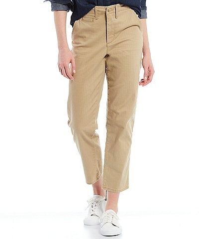 Levi's High Rise Classic Chino Twill Pants