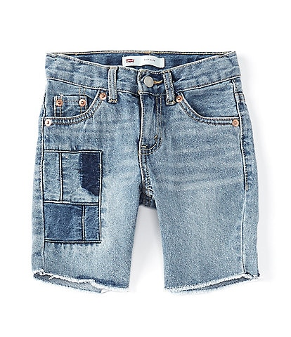 Levi's® Little Boys 2T-7 511™ Slim Fit Denim Patch Shorts