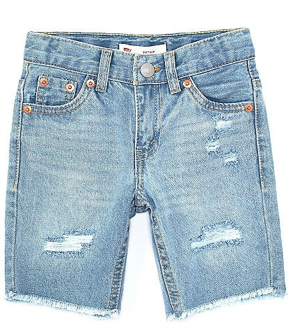 Levi's® Little Boys 2T-7 511 Slim Fit Denim Shorts