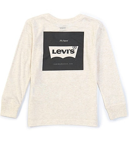 Levi's Little Boys 2T-7 Long-Sleeve The Original Logo Tee