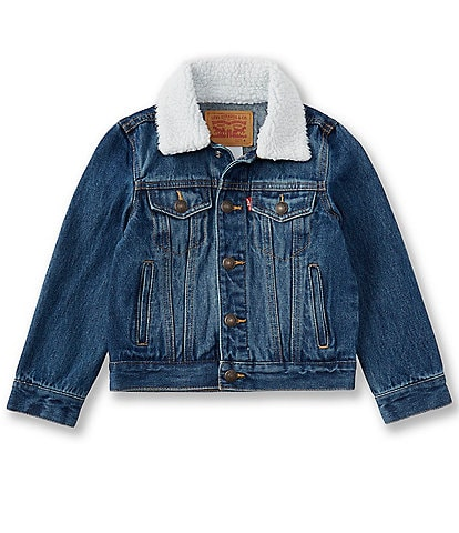 Levi's Little Boys 2T-7 Sherpa Denim Trucker Jacket