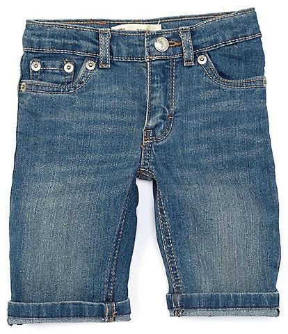 Levi's® Little Girls 2T-6X Denim Bermuda Short