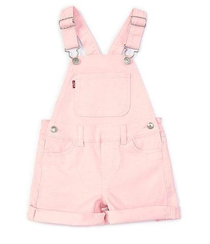 Levi's® Little Girls 2T-6X Denim Shortall