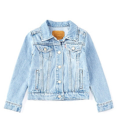 Levi's® Little Girls 2T-6X Denim Trucker Jacket