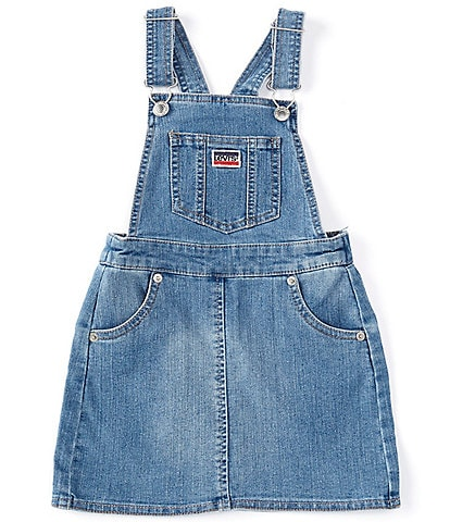 Levi's® Little Girls 4-6X Stretch Denim Shirtall