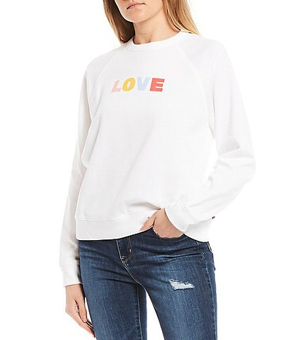 Levi's® Love Everyday Crew Graphic Sweatshirt