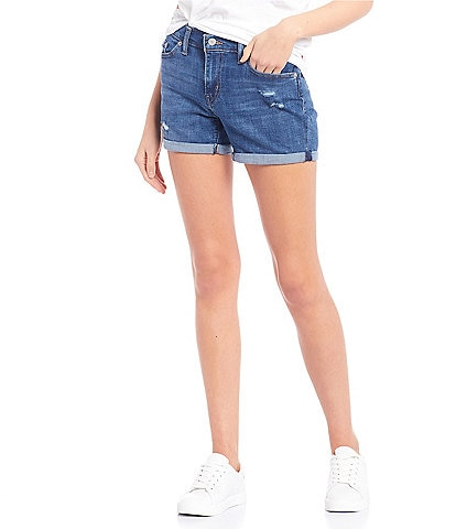 Levi's® Mid Length Rolled Cuff Shorts