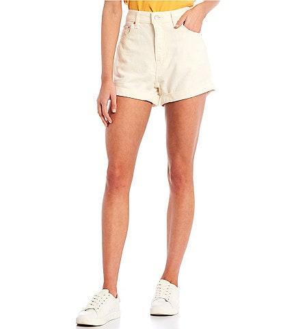 Levi's® Mom High-Rise Denim Shorts