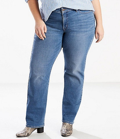 Levi's® Plus Size 414 Classic Straight Jeans