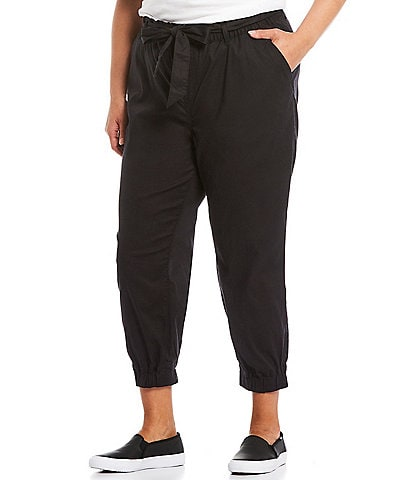 Levi's® Plus Size Belted Jet Set Pull-On Crop Joggers