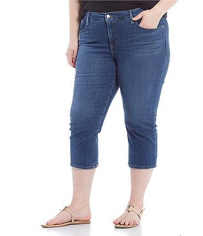 Levi's® Plus Size Shaping Capri Jeans