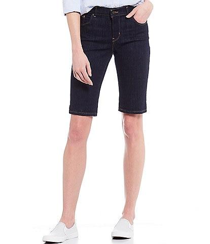 Levi's® Rolled Cuff Bermuda Shorts