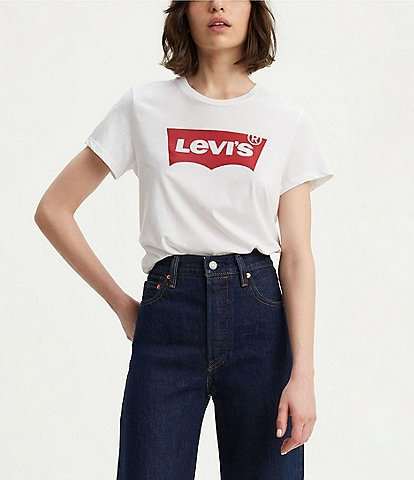 Levi's® Short Sleeve Batwing Graphic Logo Tee